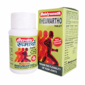 New Rheumartho Baidyanath 1 PAck 50 Tablets Improves Flexibility Of Joints Available