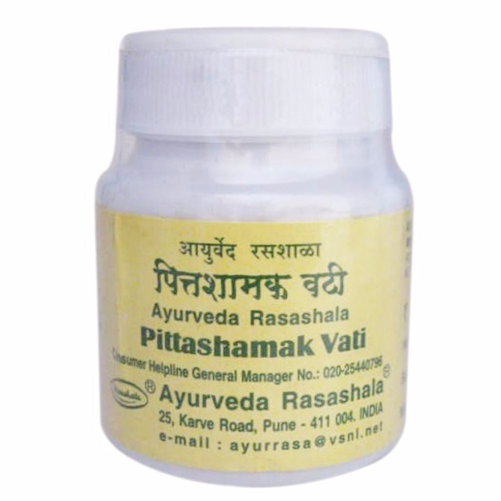Pittashamak Vati, Ayurveda Rasashala- Acute & Chronic Diarrhoea-60 Tablets Available