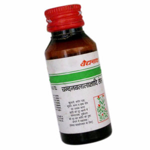100% Herbal Chandanbalalakshadi Oil Baidyanath - Gives Energy & Strength - 50ml