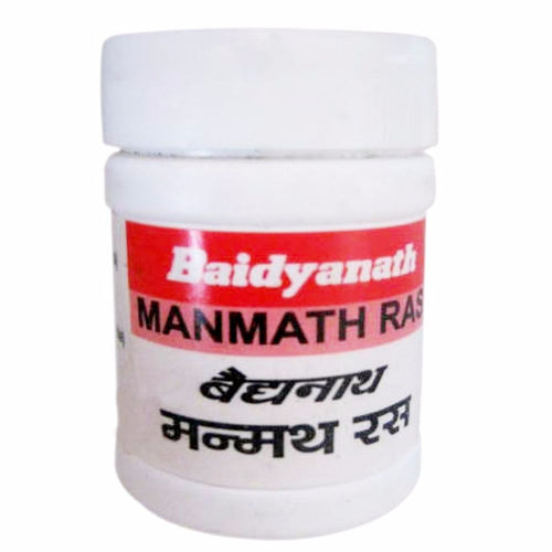 Manmath Ras (Rasendra Saar Sangraha), Baidyanath, 40 Tablets, Loss Of Vigour & S Available