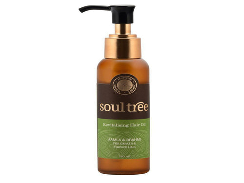 SoulTree Revitalising Hair Oil Applicable For All Hair Type 120 ml