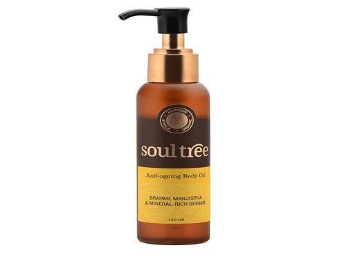 SoulTree Anti-Ageing Body Oil Applicable For All Skin Type 120Ml