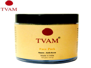 TVAM Face Pack - Neem Anti-Acne, Rose Glow, Peel Off and Ubtan 100Gms