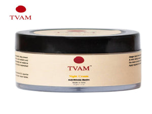 TVAM Night Cream - Anti-Wrinkle Mantra -reduces appearance of fine lines-(50gms)