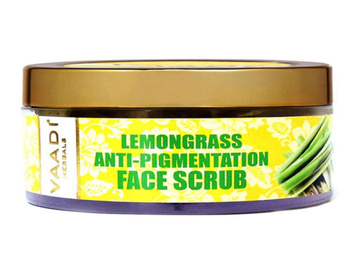 Vaadi Herbals Lemongrass Anti-Pigmentation Face Scrub 50 Gms