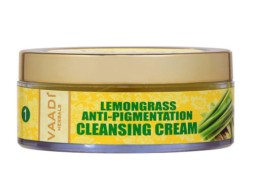 Vaadi Herbals Lemongrass Anti-Pigmentation Cleansing Cream-50 Gms