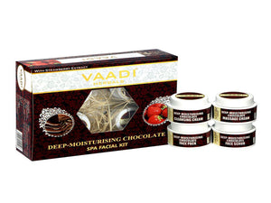 Vaadi Herbals Chocolate & Strawberry SPA Facial Kit 70GM &270Gm