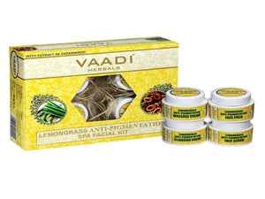 Vaadi Herbals Lemongrass & Cedarwood SPA Facial Kit 70GM &270GM