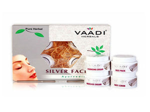 Vaadi Herbals Anti Pollution Silver Facial Kit 70GM &270GM