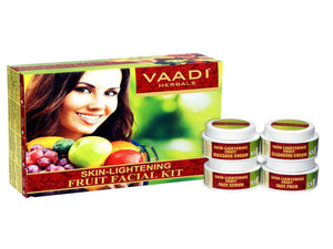 Vaadi Herbals Skin Lightening Fruit Facial Kit 70GM &270GM