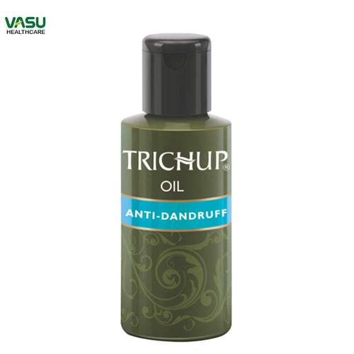 Trichup Anti-Dandruff Oil-Stimulating Scalp Health-100ml Available at BuyIndianProducts24x7.com