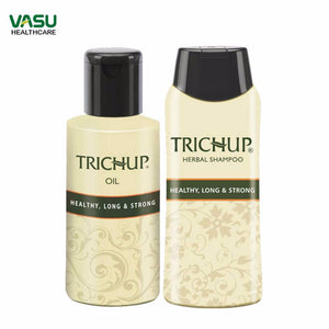 Trichup Hair Growth Kit (HLS Oil 2 x 200ml, HLS Shampoo 200ml)-hair growth kit Available at BuyIndianProducts24x7.com
