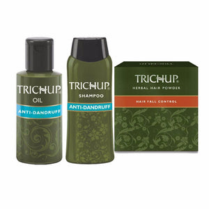 Trichup Complete Hair Care Solution Kit -Prevents Hair Fall & Dandruff Available at BuyIndianProducts24x7.com