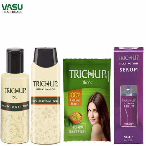 Trichup Dry and Damaged Repair Kit -Pollution, Chemical Treatments On Your Hair Available at BuyIndianProducts24x7.com