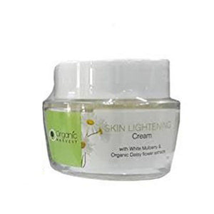 Organic Harvest Skin Lightening Cream-Greater Skin Clarity And Luminosity Available at BuyIndianProducts24x7.com