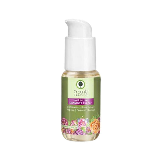 Organic Harvest Hair Oil for Dandruff Free Hair Available at BuyIndianProducts24x7.com