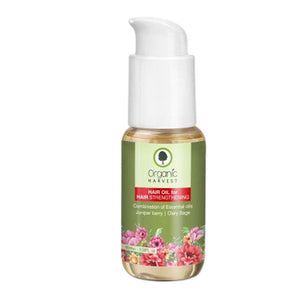 Organic Harvest Hair Oil for Hair Strengthening - 60ml Available at BuyIndianProducts24x7.com