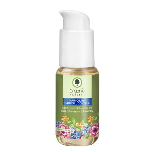 Organic Harvest Hair Oil for Hair Fall Control Available at BuyIndianProducts24x7.com