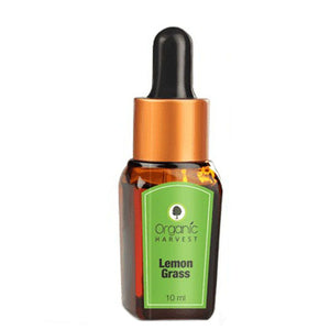 Organic Harvest Lemon Grass Essential Oil - 10ML Available at BuyIndianProducts24x7.com
