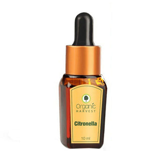 Organic Harvest Citronella Essential Oil - 10ml Available at BuyIndianProducts24x7.com