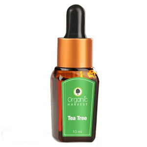 Organic Harvest Tea Tree Essential Oil - 10ml Available at BuyIndianProducts24x7.com