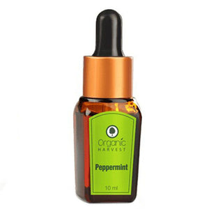 Organic Harvest Pepper Mint Essential Oil - 10ml Available at BuyIndianProducts24x7.com