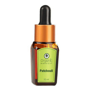 Organic Harvest Patchouli Essential Oil - 10ml Available at BuyIndianProducts24x7.com
