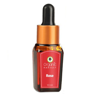 Organic Harvest  Rose Essential Oil - 10ml Useful For Body, Mind & Soul Available at BuyIndianProducts24x7.com