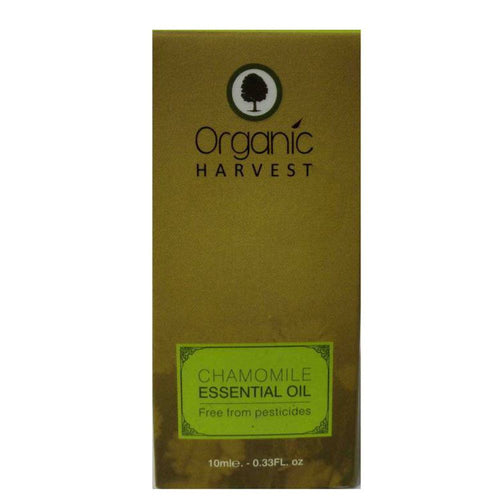 Organic Harvest Chamomile Essential Oil - 10ml Available at BuyIndianProducts24x7.com
