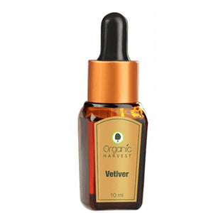 Organic Harvest Vetiver Essential Oil - 10ml Available at BuyIndianProducts24x7.com