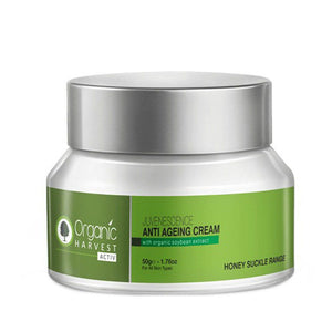 Organic Harvest  Juvenescence -Anti ageing Cream-Natural Ingredients- 50gm Available at BuyIndianProducts24x7.com