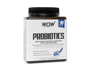 Wow Life Science Probiotics-60 Capsules