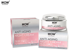Wow Skin Science Anti Aging Daily Night Cream - 50 Ml