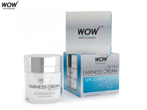Wow Skin Science Fairness Cream - Spf 20 Pa++-50ml