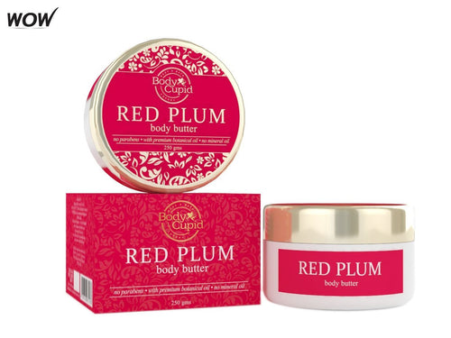Body Cupid's Red Plum Body Butter-250gm