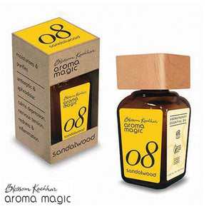 100% Pure Aroma Magic Sandalwood Oil - 20ml - Free Shipping