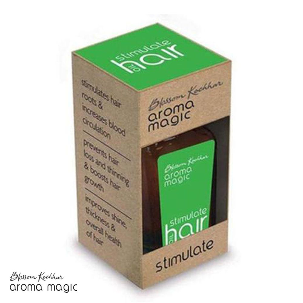 100% Pure Aroma Magic Stimulate Oil For Hair Growth - 20ml Available