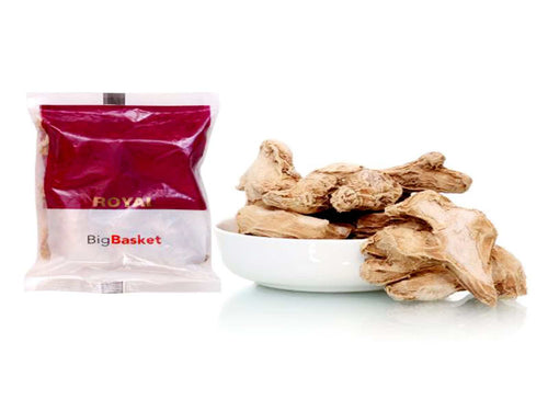 Pure Indian Whole Spices Raw Royal Dry Ginger/Adarakh