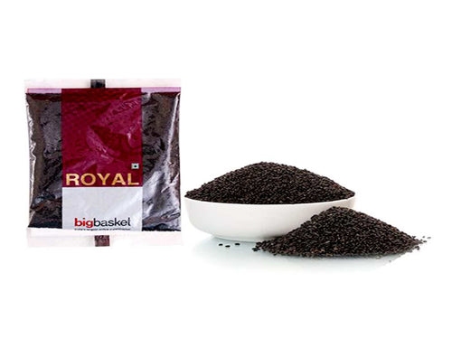 Pure Indian Whole Spices Raw Royal Seeds Sabja