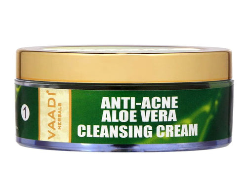 Vaadi Herbals Anti-Acne Aloe Vera Cleansing Cream 50 Gms
