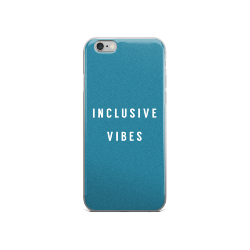 Inclusive Vibes iPhone Case