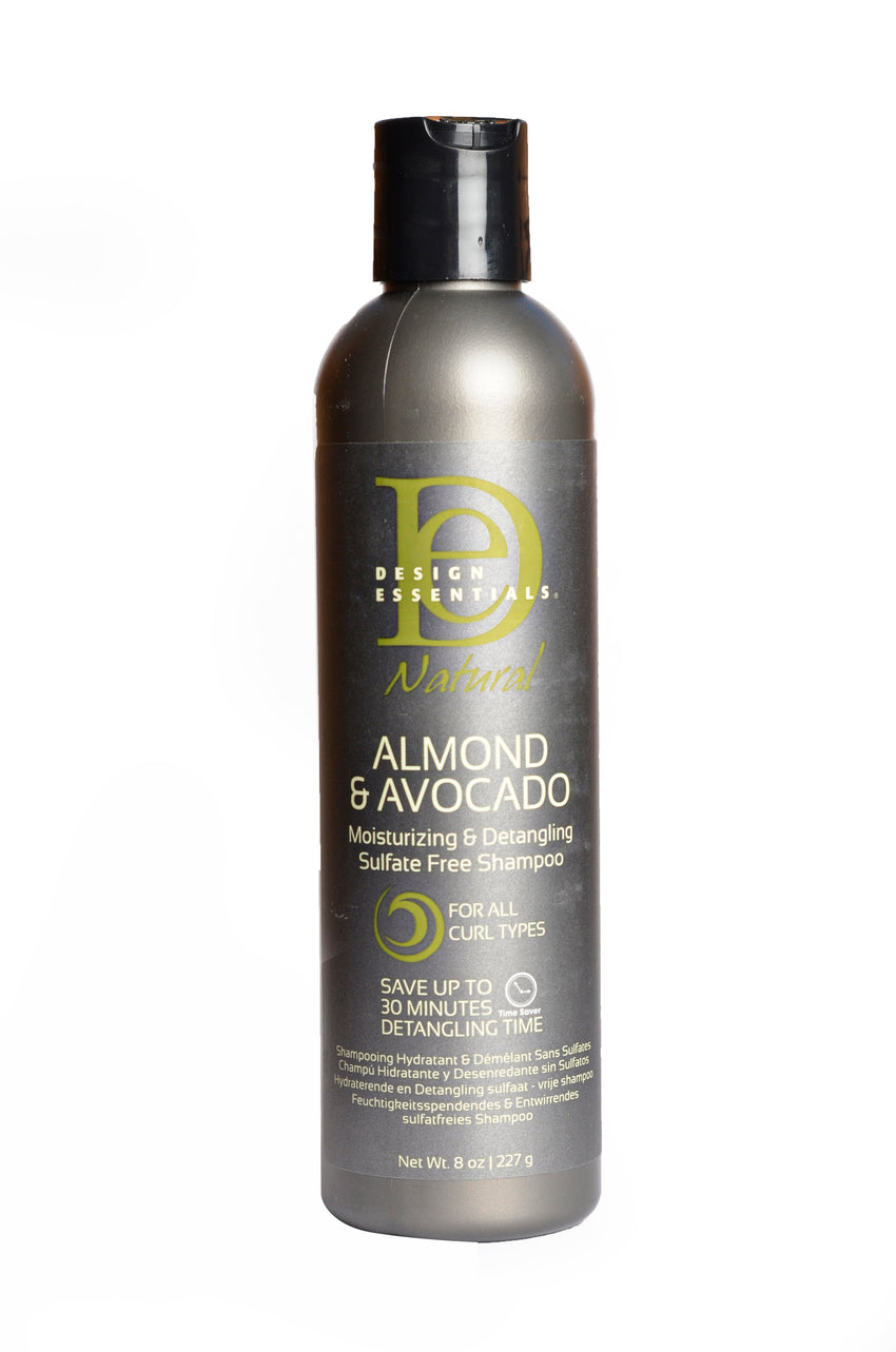 Design Essentials Almond And Avocado Moisturising And Detangling Sulphate Free Shampoo