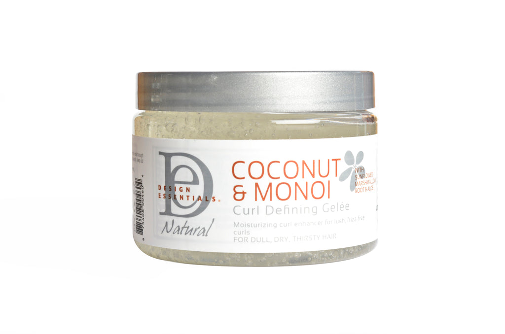 Design Essentials Coconut And Monoi Curl Defining Gelee Adore Hair