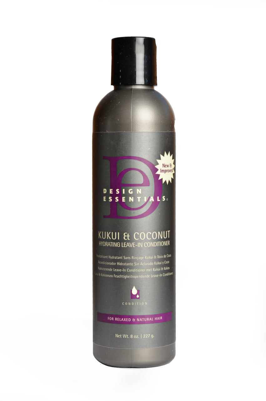 Design Essentials Kukui And Coconut Hydrating Leave In Conditioner