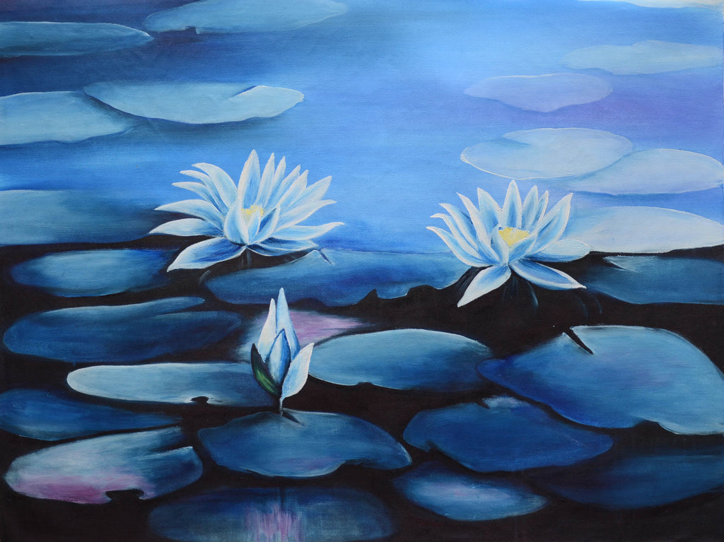 Blue lotus flower swadeshi art blue lotus flower mightylinksfo