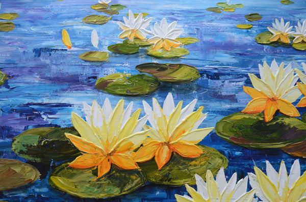 Yellow Lotus Flower Swadeshi Art