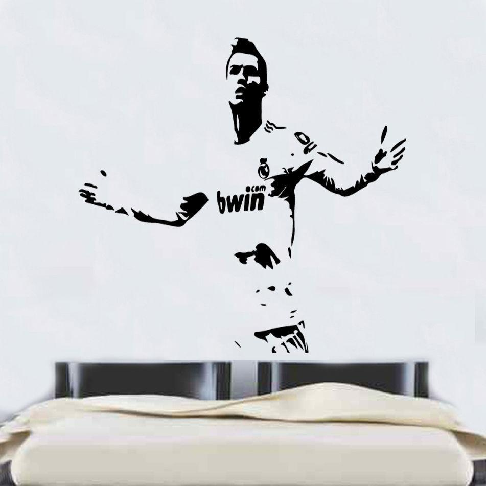 Football player wall stickers images home wall decoration ideas ronaldo football player wall stickers monkstars ronaldo football player wall stickers amipublicfo images amipublicfo Gallery