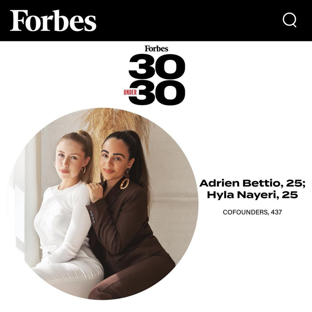 FORBES 30 UNDER 30: 437