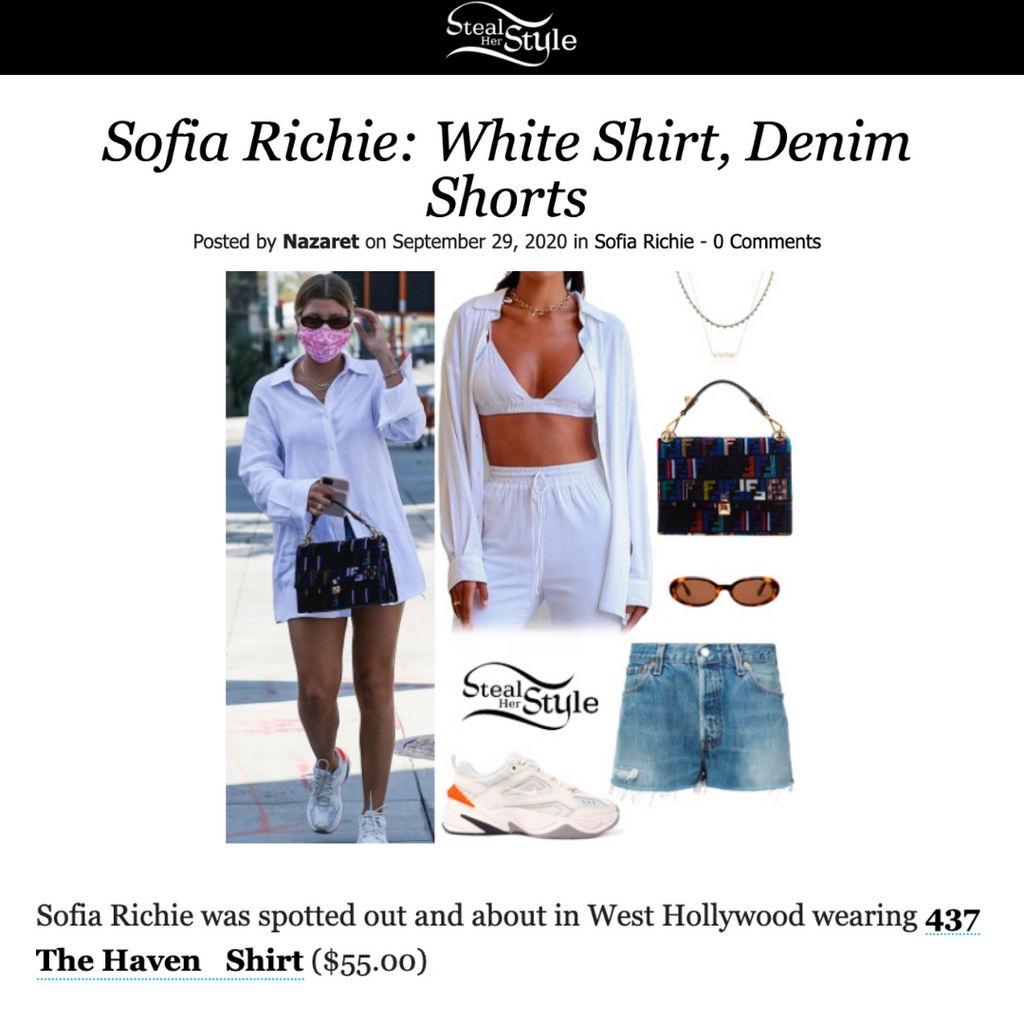 STEALHERSTYLE: Sofia Richie out and about in West Hollywood