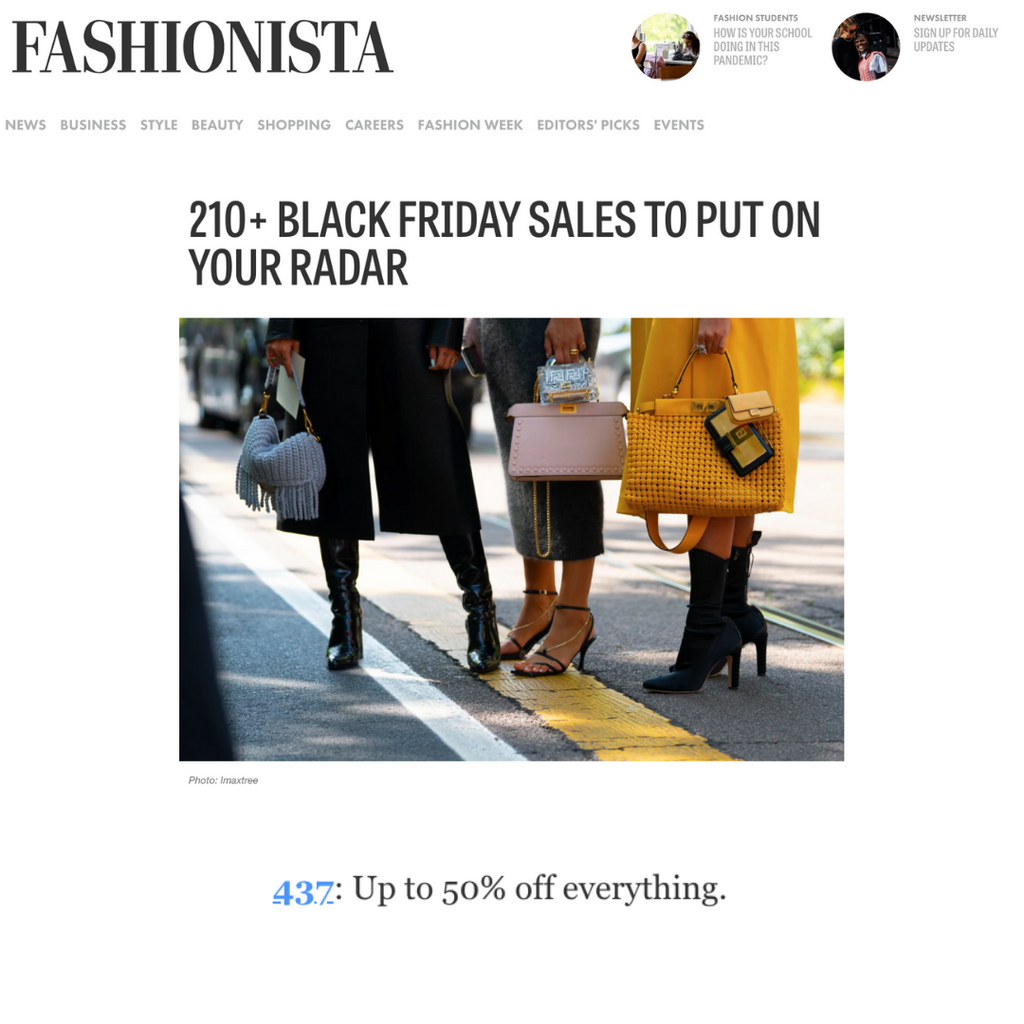 FASHIONISTA: Black Friday sales to put on your radar